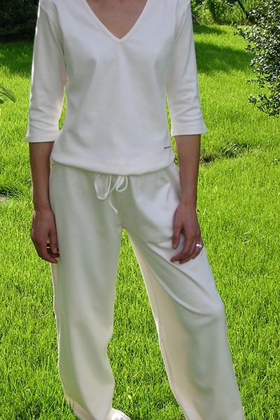 vêtements de détente 100% coton bio